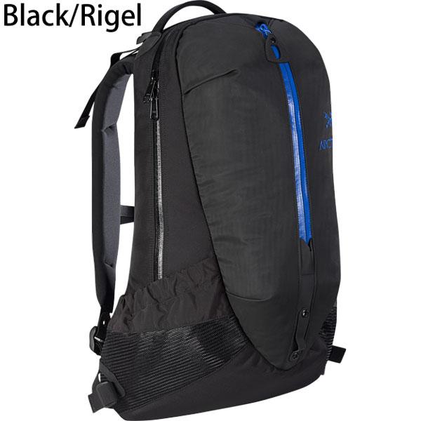 ◎アークテリクス 6029・Arro 22 Backpack/アロー22 バックパック(Black/Rigel)L06900700