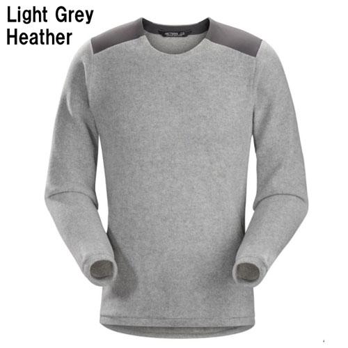 ◎アークテリクス 20155・Donavan Crew Neck Sweater Men's/ドノバン クルーネックセーター メンズ(Light Grey Heather)L06936100
