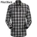 ◎アークテリクス 16898・Gryson LS Shirt Men's/グライソン ロングスリーブシャツ メンズ(Pilot Black)L06914400