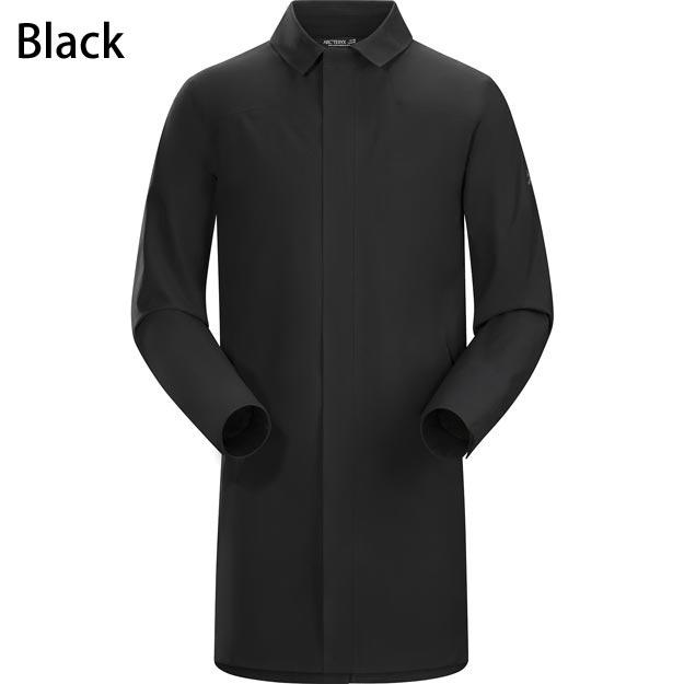 ◎アークテリクス 19718・Keppel Trench Coat Men's/ケッペル トレンチコート メンズ(Black)<BIRD AID対象商品>L06930200