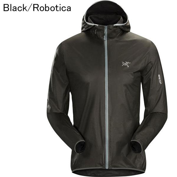 ◎アークテリクス 23429・Norvan SL Hoody Men's/ノーバンSLフーディー メンズ(Black/Robotica)L07186800