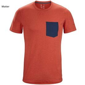 (4)アークテリクス 25217・Eris T-Shirt Men's/エリスTシャツ メンズ(Matter)L07370300【シャツ】【キャンプ】【トレッキング】【登山】