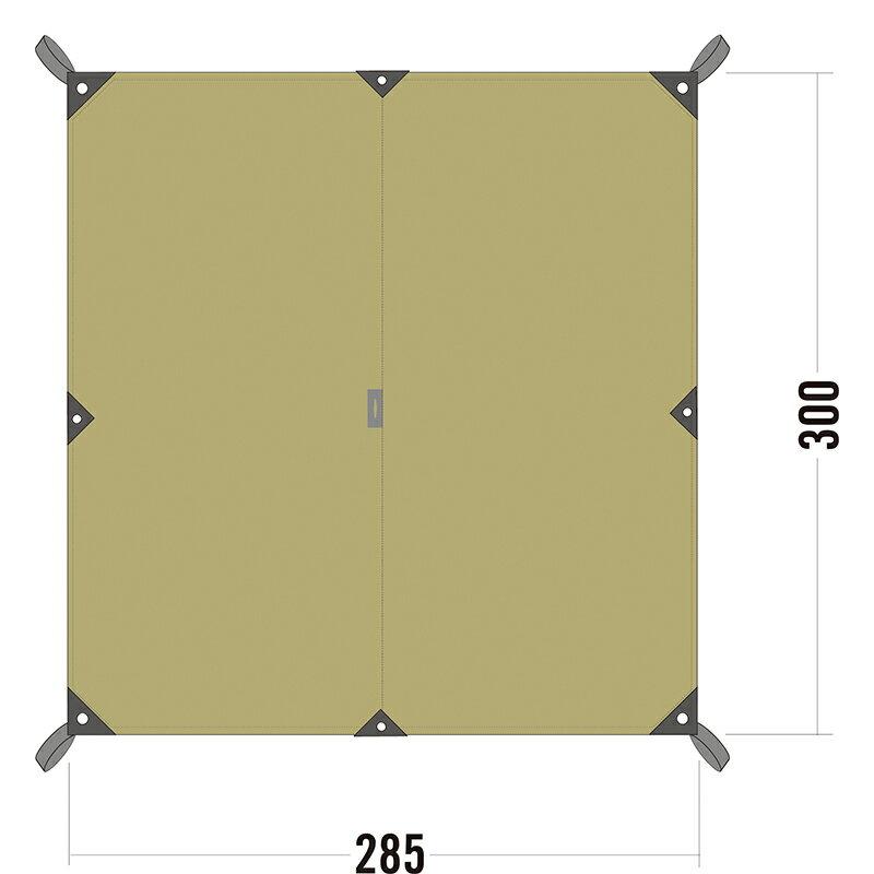 ○エバニュー ECQ202・Tarp TC2(タープ TC2)