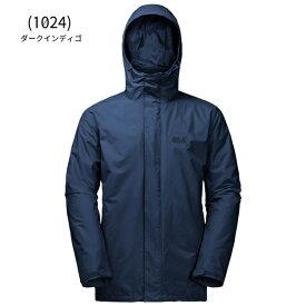 ○ジャックウルフスキン W1105743_1024・アイスランド3イン1 メンズ(ダークインディゴ)【40%OFF】