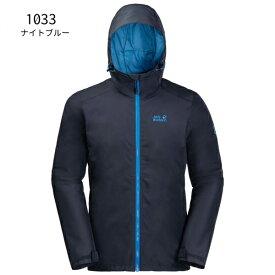 ○ジャックウルフスキン W1108353_1033・チリーモーニング ジャケット メンズ(ナイトブルー)【40%OFF】