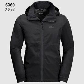 ○ジャックウルフスキン W1111131_6000・エバンデール ジャケット メンズ(ブラック)【40%OFF】