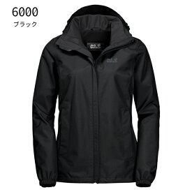 ○ジャックウルフスキン W1111201_6000・ストーミーポイントジャケット ウィメンズ(ブラック)【40%OFF】
