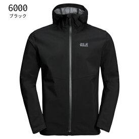 ○ジャックウルフスキン W1111501_6000・JWPシェル メンズ(ブラック)【40%OFF】
