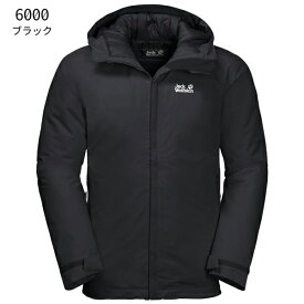 ○ジャックウルフスキン W1111721_6000・アルゴンストーム ジャケット メンズ(ブラック)【40%OFF】