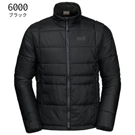 ○ジャックウルフスキン W1204881_6000・アルゴンジャケット メンズ(ブラック)【40%OFF】