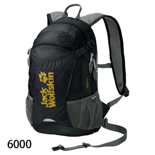 ○ジャックウルフスキン W2004961_6000・ベロシティ12(ブラック)
