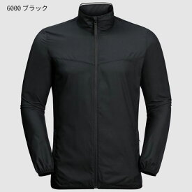 ○ジャックウルフスキン W1204631_6000・JWP ウィンド メン(ブラック)【40%OFF】