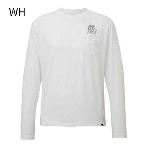 ◎マーモット TOMMJB58・メンズ ポケットマーヴィンロングスリーブTシャツ【40%OFF】
