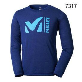 ○ミレー MIV01447_7317・M-SCAPE TS LS/M スケープ Tシャツ ロングスリーブ(SAPHIR)【35%OFF】