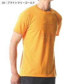 ○ミズノ A2MA8047・スパン天竺半袖プリントTシャツ(メンズ)【52%OFF】