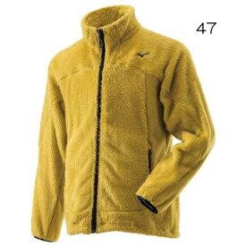 ○ミズノ A2MC8521・ブレスサーモ シャギーフリースジャケット(メンズ)【48%OFF】