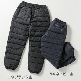 ○ミズノ C2JF9501・ブレスサーモ ダウンパンツ(メンズ)【30%OFF】
