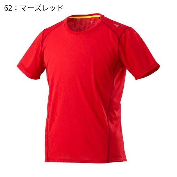 ○ミズノ J2MA8015・ランニングTシャツ(メンズ)【46%OFF】