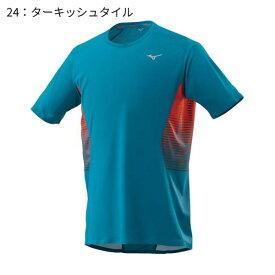 ○ミズノ J2MA8501・ランニングTシャツ(メンズ)【50%OFF】