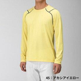 ○ミズノ B2MA9025・ドライベクター長袖クルーネックシャツ(メンズ)【47%OFF】