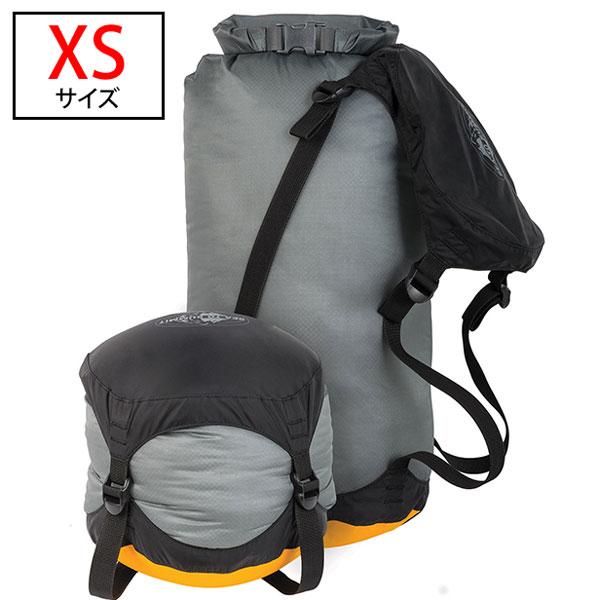 ○シートゥサミット AUCDSXS・ウルトラシル コンプレッション ドライサック XS(st83362)