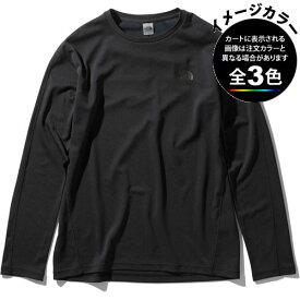 ○ノースフェイス NT12017・ロングスリーブ フラッシュドライライトクルー(メンズ)