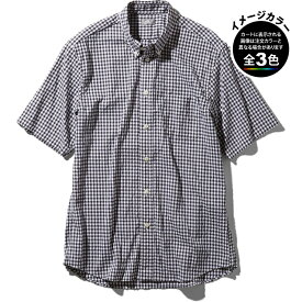 ○ノースフェイス NR21967・ショートスリーブ ヒデンバリーシャツ(メンズ)【30%OFF】