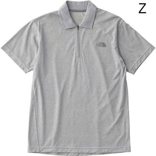 ○ノースフェイス NT11814・ショートスリーブ WA.CLOTH ポロ(メンズ)
