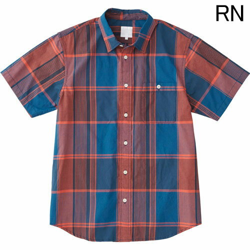 ○ノースフェイス NR21812・ショートスリーブ マドラスチェックシャツ(メンズ)【31%OFF】