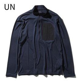 ○ノースフェイス NT11801・ロングスリーブ スーパーハイクジップアップ(メンズ)【31%OFF】