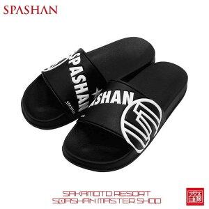 スパシャン サンダル シャワーサンダル ブラック SPASHAN SANDALSサイズは3サイズ。S(約26センチ)、M(約28センチ)、L(約30センチ)