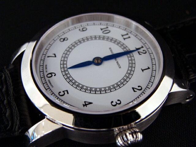 国内正規品MADE IN GERMANY ドイツ製 シャウボーグウォッチ 「グノモニク コンバート」 手巻き 送料無料 1本の針で時分を表現する