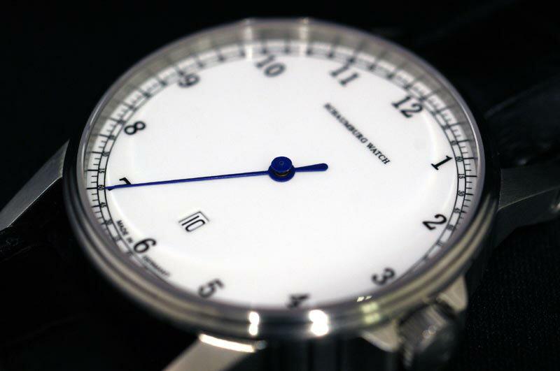 MADE IN GERMANY ドイツ製 シャウボーグウォッチ 1本針時計 デイト付き  自動巻き 送料無料 入荷【】
