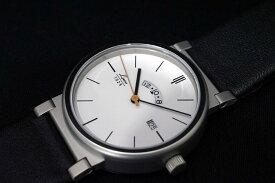 正規品【LACO ラコ】 「ドイツ製 パイロットウォッチ」リアルミリタリー腕時計の復刻モデル【クォーツ電池】39mmケース メンズ紳士用 ホワイト文字盤 革ストラップ【880202】