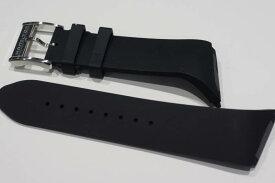 正規品ハミルトン 純正ベルト ベンチュラXXL用 ブラックラバーストラップ H600.246.102 H600246102