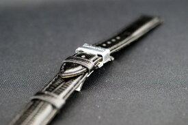 正規品ハミルトン 純正ベルト ベンチュラ用 ケース取付サイズ17mm ブラック色 カーフ型押し(革バンド) 純正ストラップ H600.244.101