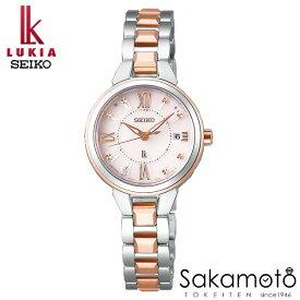 国内正規品 SEIKO セイコー LUKIA ルキア ウォッチ 腕時計 ソーラー電波 女性用 婦人用 レディース【SSVW146】