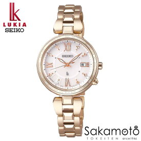 国内正規品 SEIKO セイコー LUKIA ルキア ウォッチ 腕時計 ラッキーパスポート ソーラー電波 女性用 婦人用 レディース【SSQV058】
