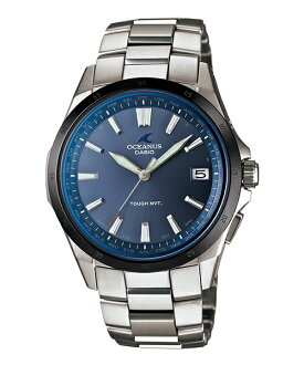 New model OCW-S100F-2AJF from OCEANUS ( Oceanus ), finished in a beautiful eurpiansporti design with genuine CASIO Oceanus advanced technology and 3 needle flat-screen classics line OCW-S100 series a sea blue in stock