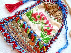 【ゆうパケット便送料無料】《手作りの国トルコの古き良き雑貨》手仕事だけで出来たモダンアンティーク小物入れ【RCP】