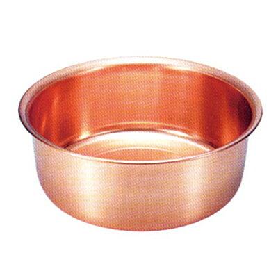 新光金属 S9360 純銅製洗い桶33cm