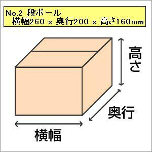 【荷造りに】No.2 段ボール 260x200x160mm 5枚入