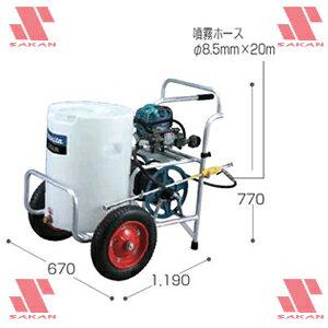 マキタ(makita) EUS500 4ストロークエンジン式 走行型噴霧器 24.5mL タンク容量50L【後払い不可】