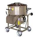 【メーカー直送】マゼラー(mazelar) PM-23GH2 補助輪付き 脚高ハンディモルタルミキサー 混合量75L モーター+減速機タ…