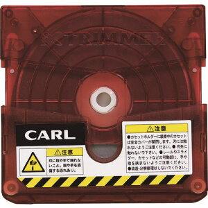 カール 裁断機 トリマー替刃 直線 〔品番:TRC-600〕[1031835]