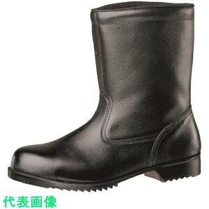 ミドリ安全 ゴム底安全靴 半長靴 V2400N耐滑 25.5cm 〔品番:V2400N-TAIKATSU-25.5〕[1056041]「送料別途見積り,法人・事業所限定,取寄」