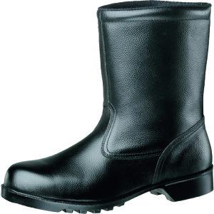 ミドリ安全 静電ゴム底安全靴 半長靴 V2400N静電 25.0cm 〔品番:V2400NS-25〕[1057624]「送料別途見積り,法人・事業所限定,取寄」