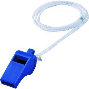 緑十字 笛(ホイッスル) 青 プラ笛402−BL 全長51.5mm 12個組 プラスチック製 〔品番:144405〕[1137392]「送料別途見積り,法人・事業所限定,取寄」