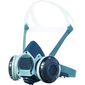 シゲマツ 防塵マスク(伝声器付)U2Wフィルタ使用 〔品番:DR-80U2W〕[1264079]