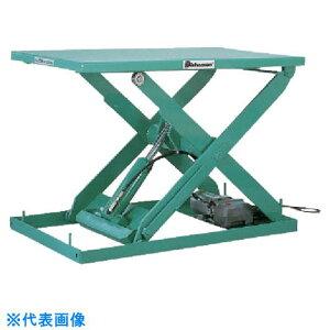 ビシャモン テーブルリフト 3TON 均等荷重3000kg ストローク800mm 〔品番:X30713-B〕[1336286]「送料別途見積り,法人・事業所限定」【大型】